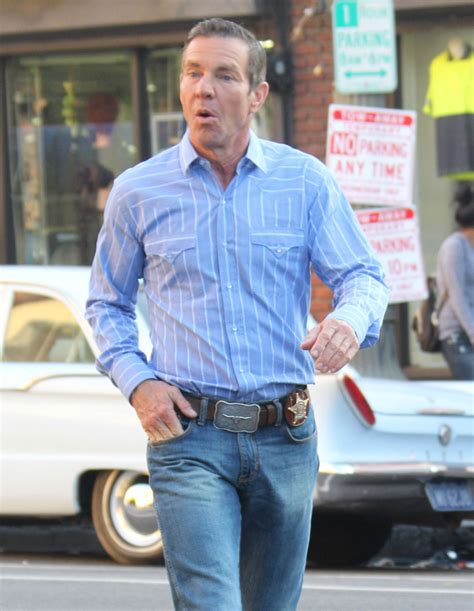 dennis quaid personality dennis quaid photos photos stars on the set of vegas