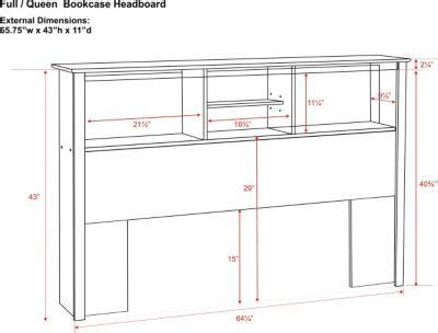 bookcase headboard plans diy projects bookcase