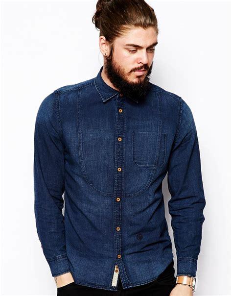 10 Men's Long Sleeve Denim Shirts For Summer | The Jeans Blog