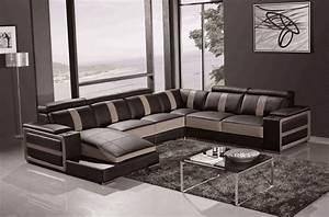 Canapé D Angle 7 Places : canap d 39 angle cuir buffle italien 7 8 places leonardo ~ Melissatoandfro.com Idées de Décoration