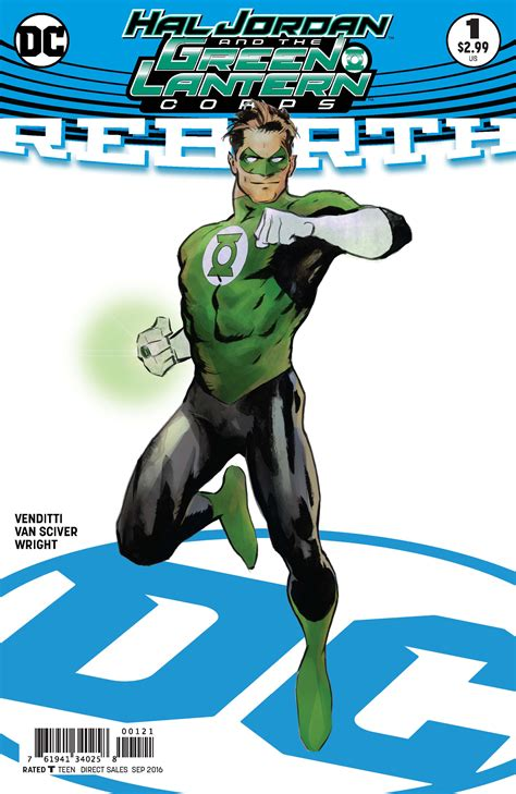 green lantern tome 1 may160209 hal and the green lantern corps rebirth 1 var ed previews world