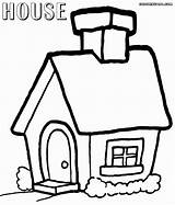 Coloring Pages Building Colorings Print sketch template
