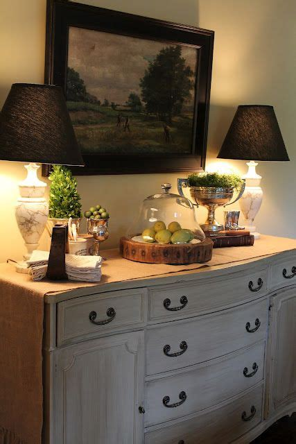 Decorating Ideas Kitchen Buffet by My Favorite Room The Polohouse Home Vignettes