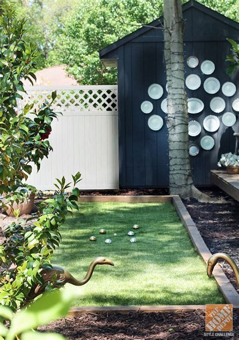 how to build a bocce court diy remodelaholic 25 diy backyard games