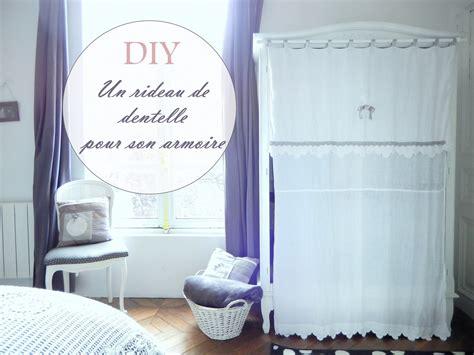 deco chambre romantique diy un rideau avec de la dentelle pour armoire mon