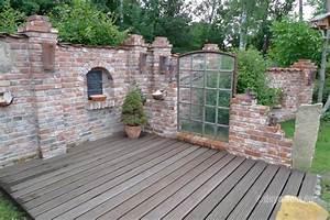 Garten Mauern Steine : inspirationen f r ruinenmauern im garten karin urban naturalstyle ~ Markanthonyermac.com Haus und Dekorationen