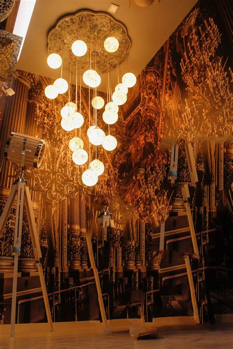 gopi chand and chandeliers light decoration light