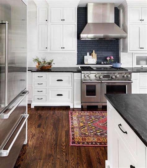 exposed brick backsplash kitchen design trend exposed brickbecki owens 7103