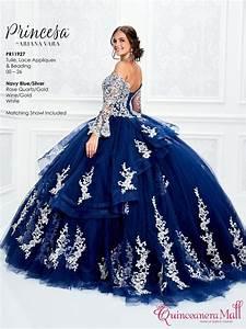 Navy Blue/Silver Quinceanera Dress #PR11927NVS ...