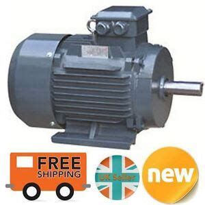 Electric Motor Horsepower by 1 1kw Premium Electric Motor 3 Phase 1400 Rpm 4 Pole 1 1 2