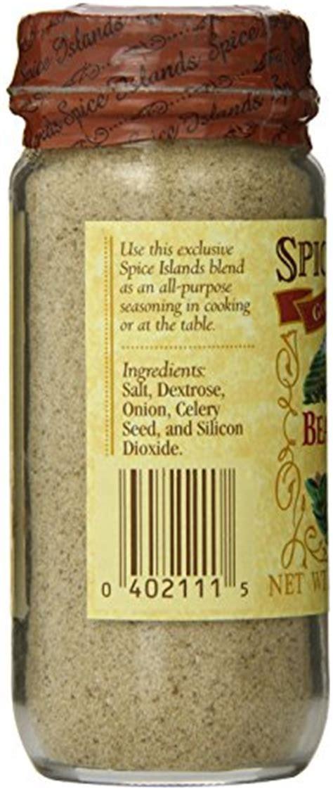 Spice Island Beau Monde Seasoning, 3.5 oz   Buy Online in