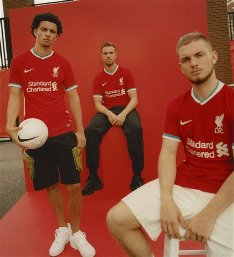Photos: Reds model their new 2020-21 Nike home kit ...