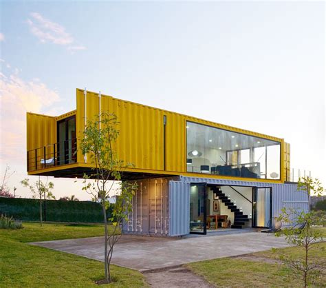 container bureau location 4 shipping containers prefab plus 1 for guests remote