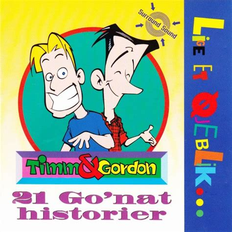Timm & Gordon  21 Go´nat Historier At Discogs
