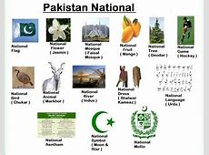 Ahmad Nawaz Maken National Symbols of Pakistan