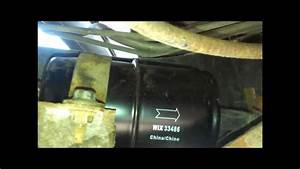 Changing The Fuel Filter On A Jeep Wrangler  91 Yj