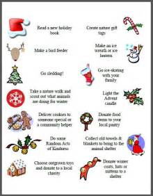 100 activities for your advent calendar free printables volunteer ideas holiday movies and