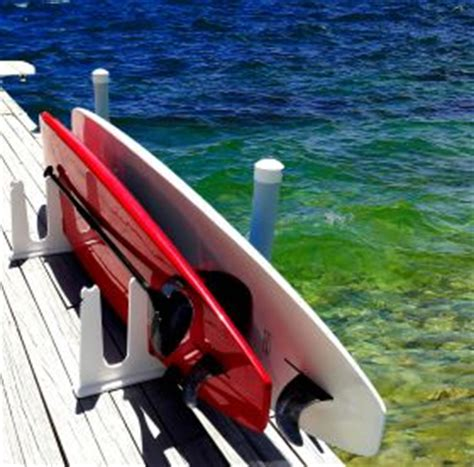 stand  paddle board storage racks  docks piers weather proof  domestic shipping