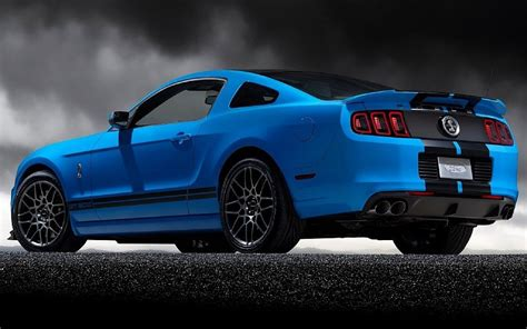 wallpaper racing blue ford mustang shelby gt muscle sport