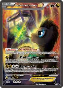 Timelord Victorious Doctor EX Pokemon card