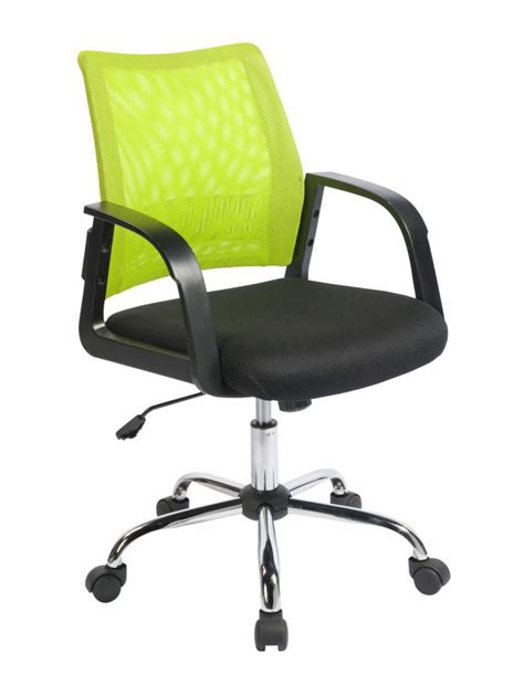 calypso lime green mesh office chair