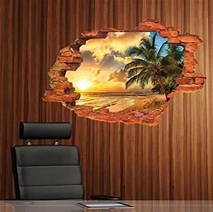 Wandbilder Zum Kleben : wandtattoo palme ~ Lizthompson.info Haus und Dekorationen