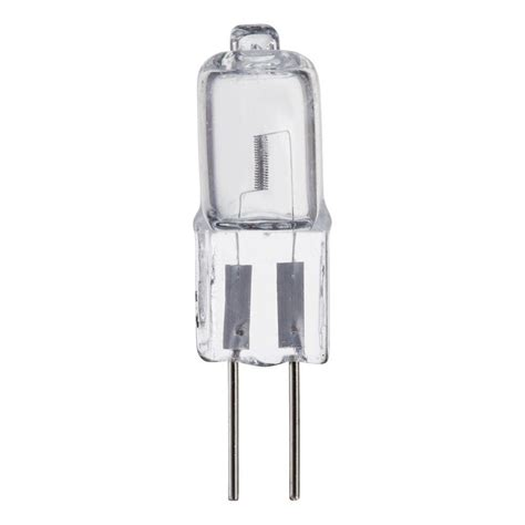 philips 20 watt halogen t3 mini bi pin g4 base 12 volt low