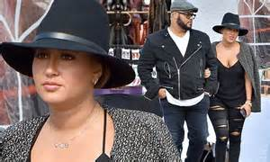 Adrienne Bailon And New Boyfriend Israel Houghton Put On A