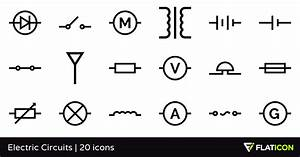 Electric Circuits 20 Free Icons  Svg  Eps  Psd  Png Files