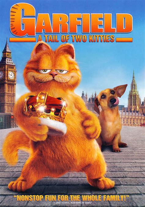 garfield  tail   kitties dvd release date october
