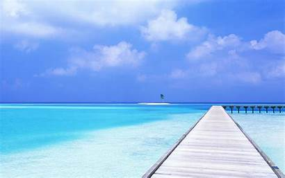 Tropical Beach Landscape Wallpapers Natural Backgrounds Wallpaperaccess