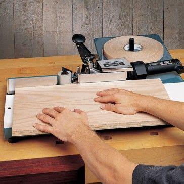 edge banding machine rockler woodworking tools learn woodworking easy woodworking projects