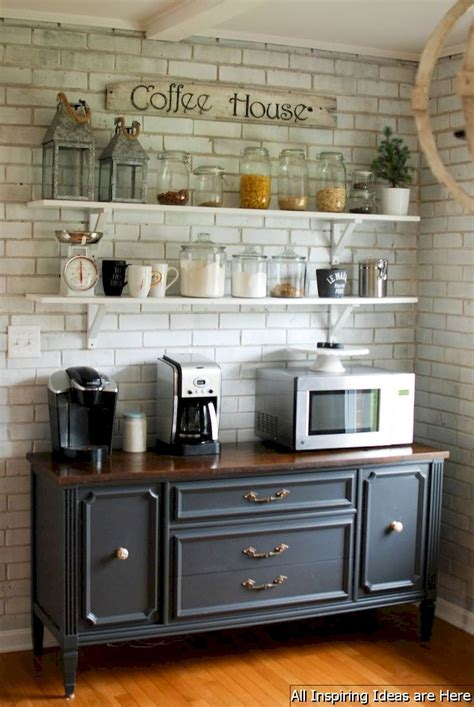 See more ideas about cafe design, coffee shop design, cafe interior. Cheap small kitchen remodel ideas 0004 | Kitchen remodel small, Coffee bar home, Kitchen decor
