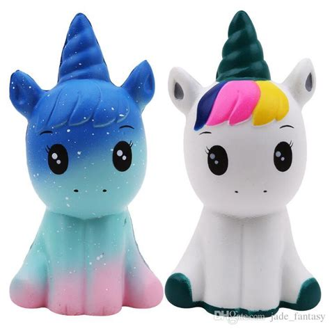 kawaii unicorn squishies cartoon squishy toys slow rising