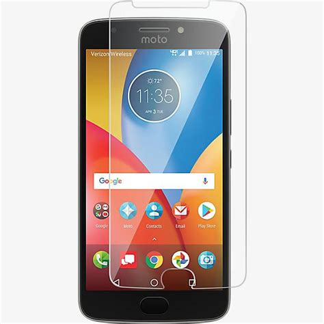 verizon tempered glass screen protector  moto