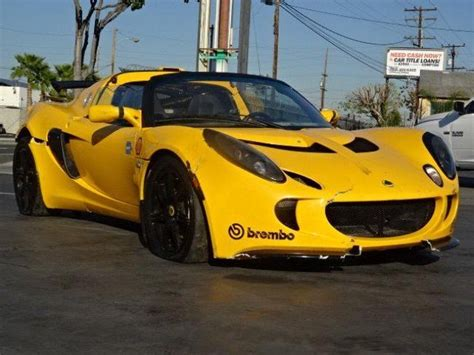 Sports For Sale by 2006 Lotus Exige Damaged Salvage For Sale