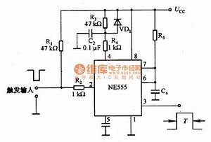 pulse delay circuit diagram pulse circuit design wiring With pulse delay circuit