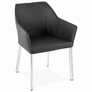 fauteuil chaise design et retro mateo noir With fauteuil chaise design
