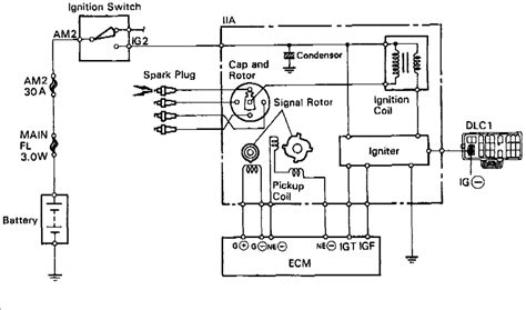 1985 Toyotum Celica Wiring Diagram For Ignition On by What Does Each Wire From The Distributor Do An Ignition