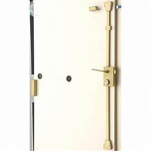 serrure en applique multipoint bricard poignee a droite With porte de garage sectionnelle avec fichet serrure