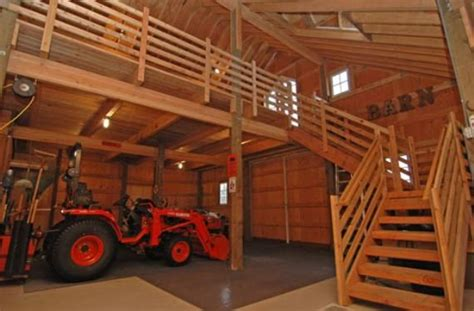 Build  Pole Barn   Loft Workshop Ideas