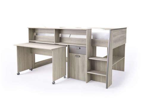 lit combiné bureau conforama exceptionnel meuble de rangement chambre pas cher 7 lit