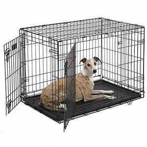 midwest icrate double door folding dog crates petco With dog crate or kennel