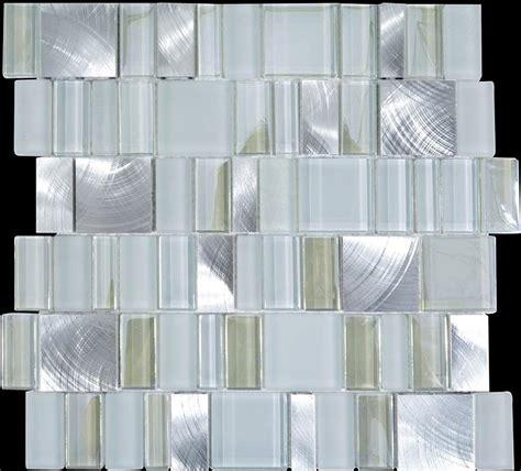 wall tiles kitchen backsplash metal glass tile bathroom wall backsplash stainless steel
