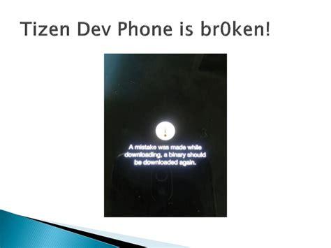 tizen 2 0 alpha でサポートされなかった api icebreak