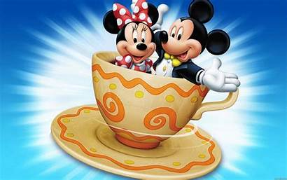 Minnie Mickey Mouse Coffee Cup Wallpapers Cartoon