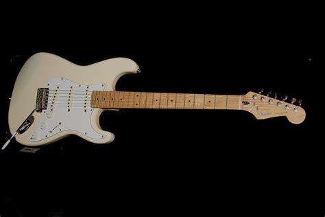 Fender Jaguar Mij by Fender 1987 Mij Stratocaster White Guitars Macclesfield