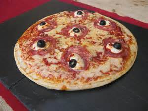 Halloween Food Ideas for Pizza Parties