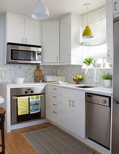 20+ Extremely Creative Small Kitchen Layouts Ideas - DIY