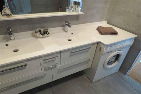 vasque sur machine a laver integrer machine a laver dans salle de bain maison design bahbe